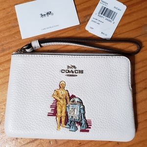 STAR WARS X COACH WRISTLET WITH C-3PO & R2D2